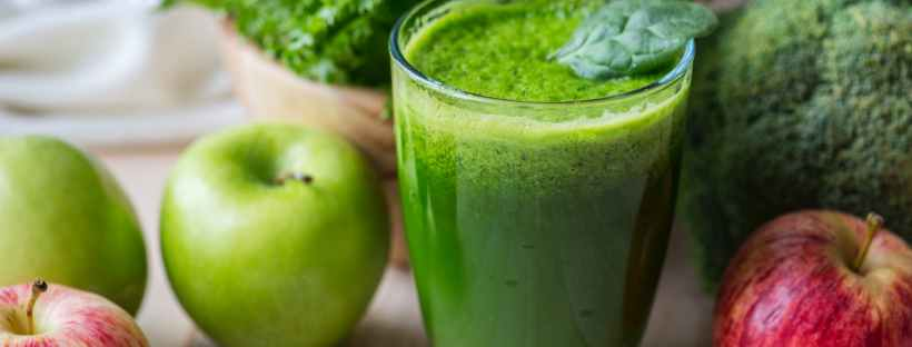 picture of green smoothie